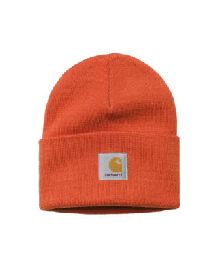 Carhartt WIP Acrylic Watch Hat Safety Orange