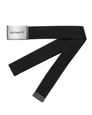 Carhartt WIP Clip Belt Chrome Black