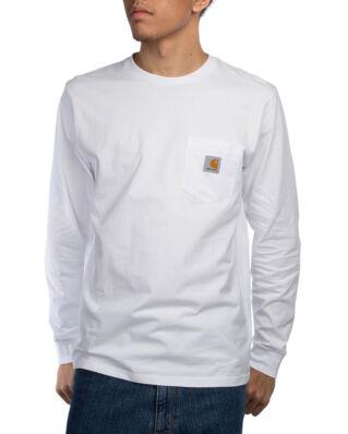 Carhartt WIP L/S Pocket T-Shirt White