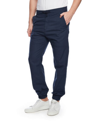 Carhartt WIP Marshall jogger cotton columbia ripstop navy rinsed
