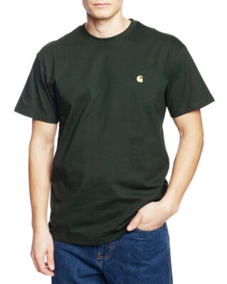 Carhartt WIP S/S Chase T-Shirt Loden/Gold