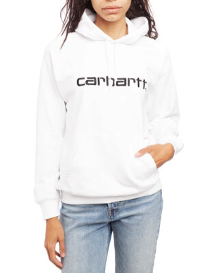 Carhartt WIP W' Hooded Carhartt Sweat White / Black