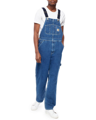 Carhartt WIP Bib Overall Blue Stone Washed