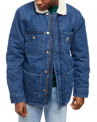 Carhartt WIP Fairmount Coat Blue