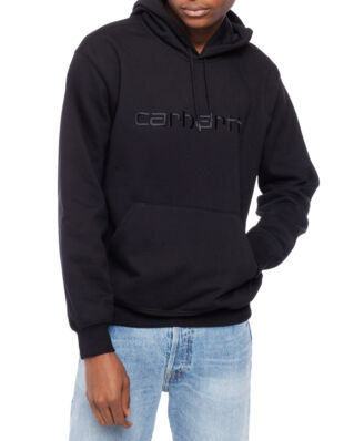 Carhartt WIP Hooded Carhartt Sweat Black/Black