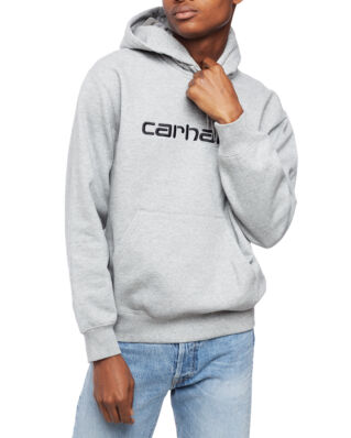 Carhartt WIP Hooded Carhartt Sweat Grey Heather/Black