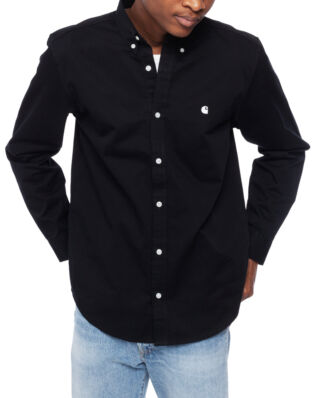 Carhartt WIP L/S Madison Shirt Black/White