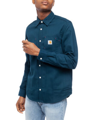 Carhartt WIP L/S Tony Shirt Duck Blue