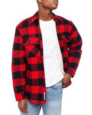 Carhartt WIP Merton Shirt Jac Merton Check, Cardinal