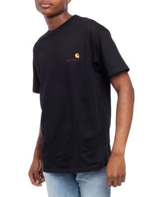 Carhartt WIP S/S American Script T-Shirt Black