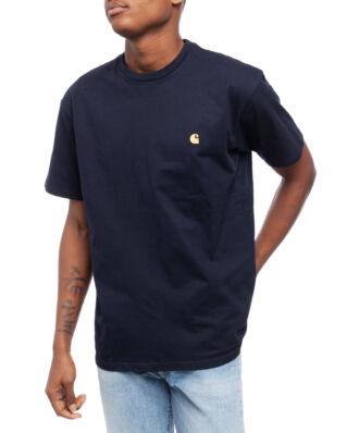 Carhartt WIP S/S Chase T-Shirt Dark Navy/Gold