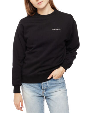 Carhartt WIP W' Script Embroidery Sweat Black/White