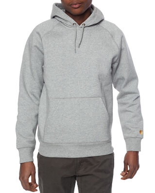 Carhartt WIP Hooded Chase Sweat Grey Heather / Gold