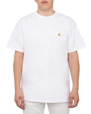 Carhartt WIP S/S Chase T-Shirt White/Gold