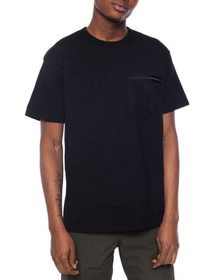 Carhartt WIP S/S Military Mesh Pocket T-S Black