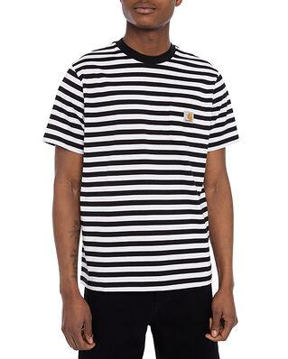Carhartt WIP S/S Scotty Pocket T-Shirt Black/White