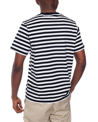 Carhartt WIP SCOTTY POCKET  - T-shirt med print - dark navy / white