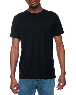 CDLP Crew Neck Lyocell T-Shirt Black