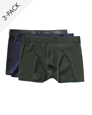 CDLP 3-Pack Boxer Brief Black/Navy Blue/Army Green