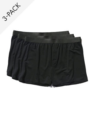 CDLP 3-Pack Boxer Shorts Black