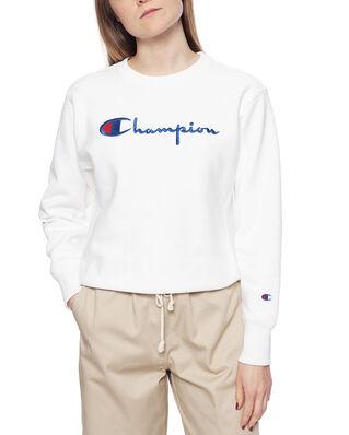 Champion Premium Crewneck Sweatshirt Wht