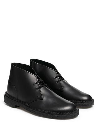 Clarks Desert Boot Black Polished