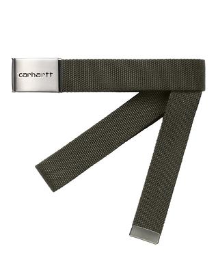 Carhartt WIP Clip Belt Chrome Cypress