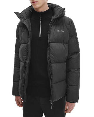 Calvin Klein  Crinkle Nylon Puffa Jacket Black