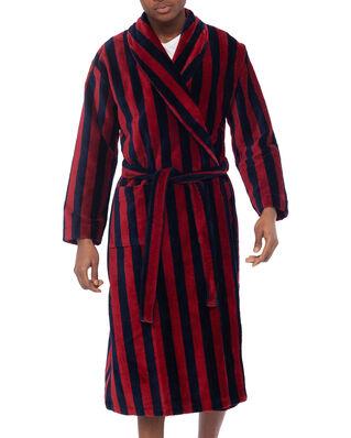 Derek Rose Towelling Gown Aston Multi