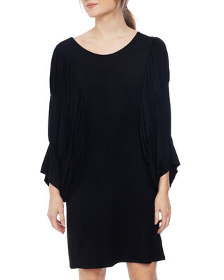 Diana Orving Circle Sleeve Dress Black
