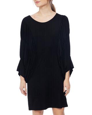 Diana Orving Circle Sleeve Dress Black