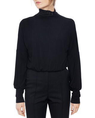 Diana Orving Jersey blouse Black