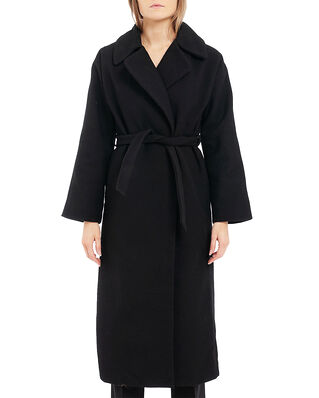 Diana Orving Long Coat Black