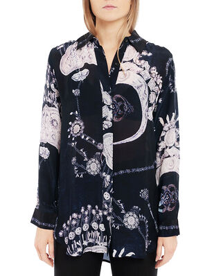 Diana Orving Long Shirt Indigo Chains