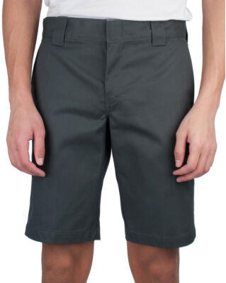 Dickies Slim Straight Work Shorts Charcoal Grey