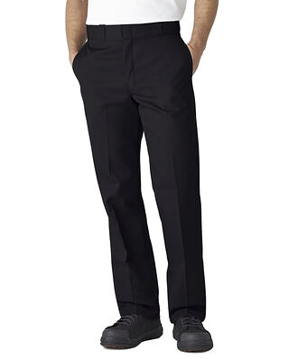 Dickies Original Fit Straight Leg Work Pant  Black