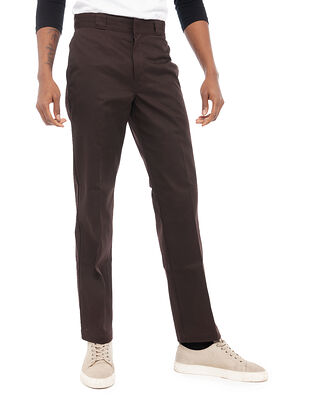 Dickies Original Fit Straight Leg Work Pant Dark Brown