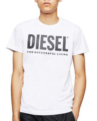 Diesel T-Just-Logo T-Shirt Bright White