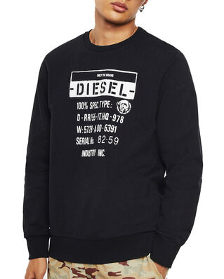 Diesel S-Girk-S3 Sweat-Shirt Black