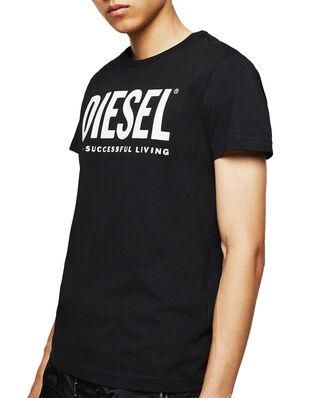 Diesel T-Diego-Logo T-Shirt Black