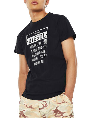 Diesel T-Diego-S1 T-Shirt Black