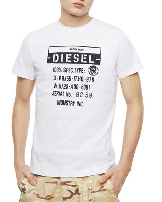 Diesel T-Diego-S1 T-Shirt Bright White