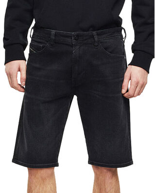 Diesel Thoshort Short Pants Denim Black Denim