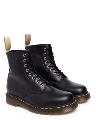Dr Martens Vegan 1460 Black Felix Rub Off Black