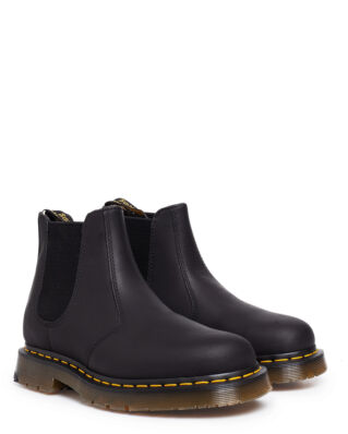 Dr Martens 2976 Black Wintergrip Fleece lining