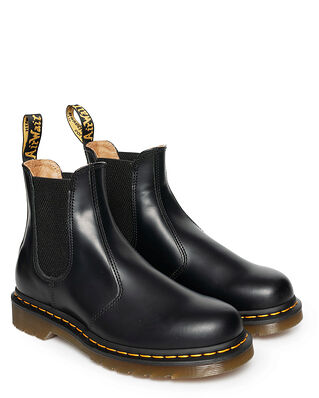 Dr Martens 2976 Ys Black Smooth Black