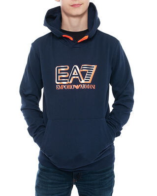EA7 Junior Felpa Navy Blue