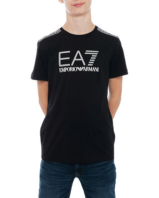 EA7 Junior T-Shirt Black