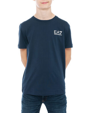 EA7 Junior T-Shirt Navy Blue BJ02Z-6HBT51