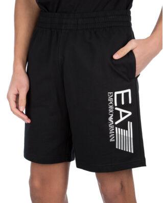 EA7 Cotton Shorts Black
